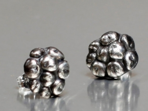 Summer Blackberry Earrings