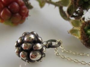 Summer Blackberry Necklace